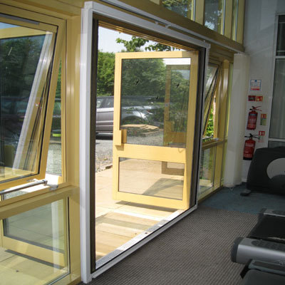 Fly screens for french doors exclusive screens fly for Pull down fly screen for doors