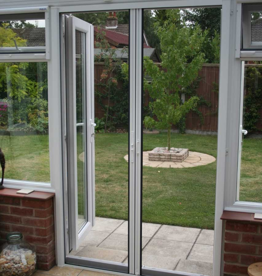 Fly screens for french doors exclusive screens fly for Flyscreens for french doors